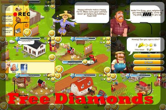 Unlimited Diamond Hay Day(HD) poster