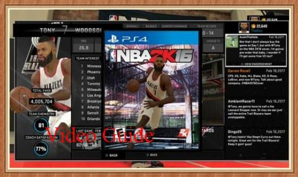 Guide for NBA 2K 16 Free poster