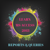 Learn Ms Access - Reports icon