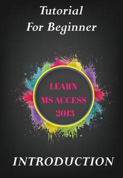 Tutorial MS Access - Beginner apk screenshot