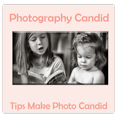 Photography- Candid Photo Tips icon