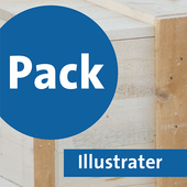 Pack Illustrater icon