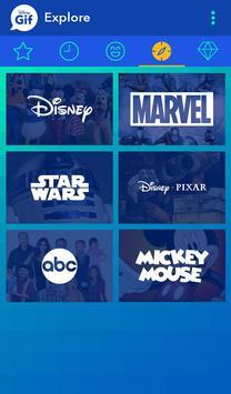 Disney Gif poster