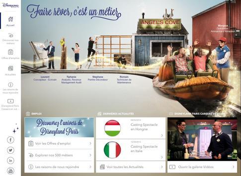 Disneyland Paris Careers apk screenshot