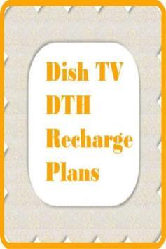 Dish TV DTH Recharge Plans apk screenshot