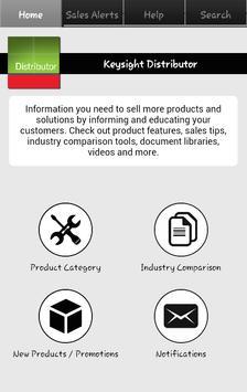 Keysight Distribution App poster