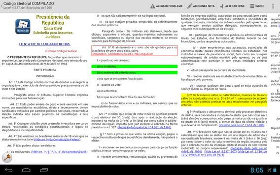 LEI DE BOLSO - Vade Mecum BR apk screenshot