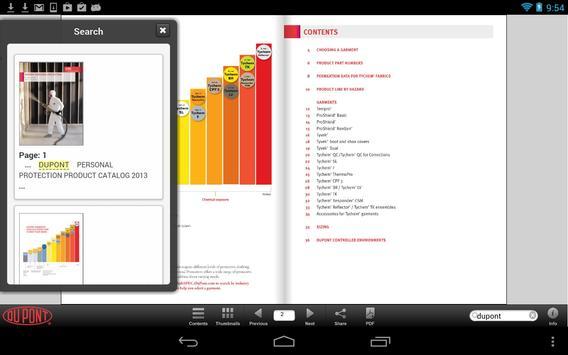 DuPont Personal Protection apk screenshot