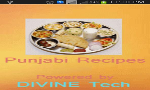Punjabi Recipes Hindi apk screenshot