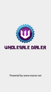 Wholesale Dialer poster
