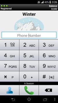 Winter Dialer apk screenshot