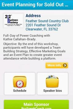 212 Business Mastery poster