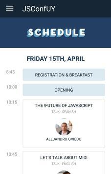 JSConfUY 2016 - Workshop apk screenshot