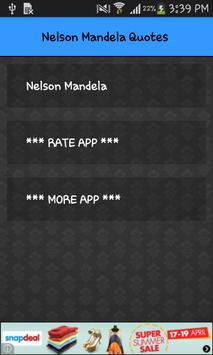 Nelson Mandela All Quotes poster
