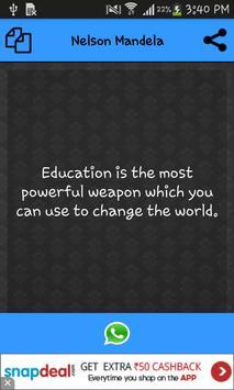 Nelson Mandela All Quotes apk screenshot