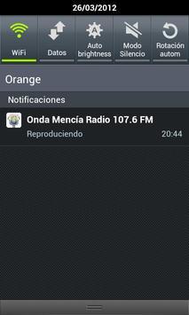 Onda Mencía Radio apk screenshot