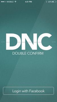 DNC Double Confirm poster
