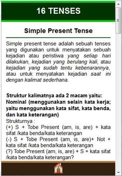 TENSES apk screenshot