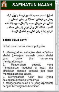Terjemah Safinatun Najah apk screenshot