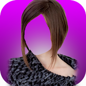 Girls HairStyles Photo Montage icon