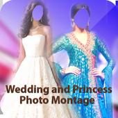Wedding Princess Photo Montage icon