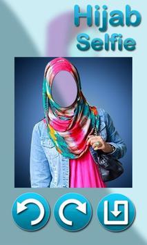 Hijab Selfie Photo Montage poster