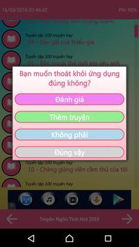Truyện Ngôn Tình Offline 2016 apk screenshot