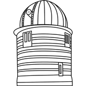 Astronomical observatories icon