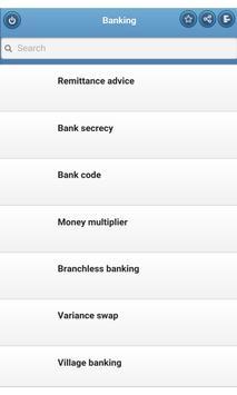 Banking poster