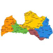 Municipalities in Latvia icon