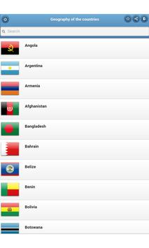 Geography of the countries apk screenshot