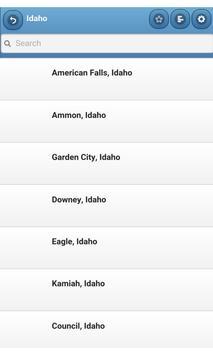 Cities in US apk screenshot