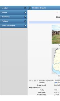Cities in Uruguay apk screenshot