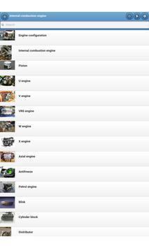 Internal combustion engine apk screenshot