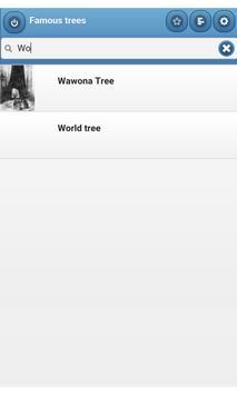 Famous trees apk screenshot