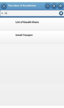 The rulers of Kazakhstan apk screenshot