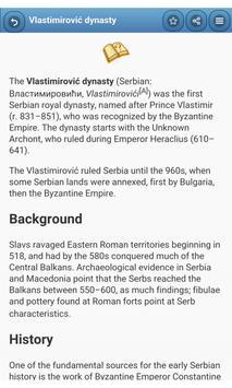 The rulers of Serbia apk screenshot