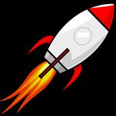Launch vehicle icon