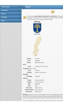 Provinces of Sweden apk screenshot