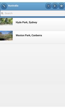 Gardens and parks apk screenshot