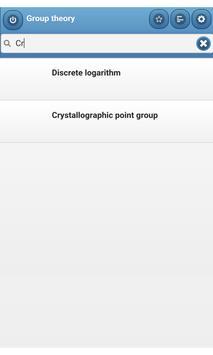 Group theory apk screenshot