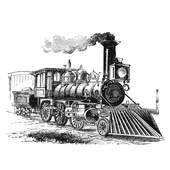 The device of the locomotive icon