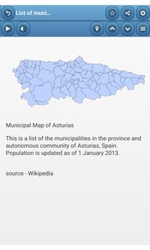 Municipalities of Spain apk screenshot