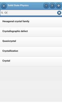 Solid State Physics apk screenshot