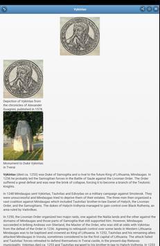 The rulers of Lithuania apk screenshot