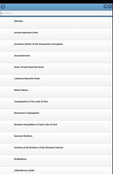 Catholic orders apk screenshot