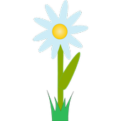 Flower beds icon