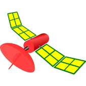Artificial Earth satellite icon