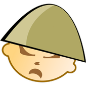 Military leaders World War II icon