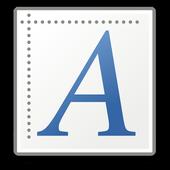 Parts of speech icon